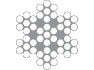 CABLE INOX SOUPLE 7X7 - 100M