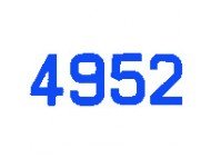NUMERO VOILE OPTI-L4.7 H 230 BLEU