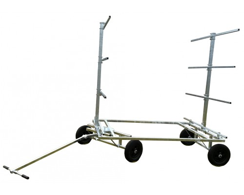 Chariot porte 8 canoes kayaks pav sup galva 4 roues 2 directionnelles n nuphar - Chariot porte roue tracteur ...