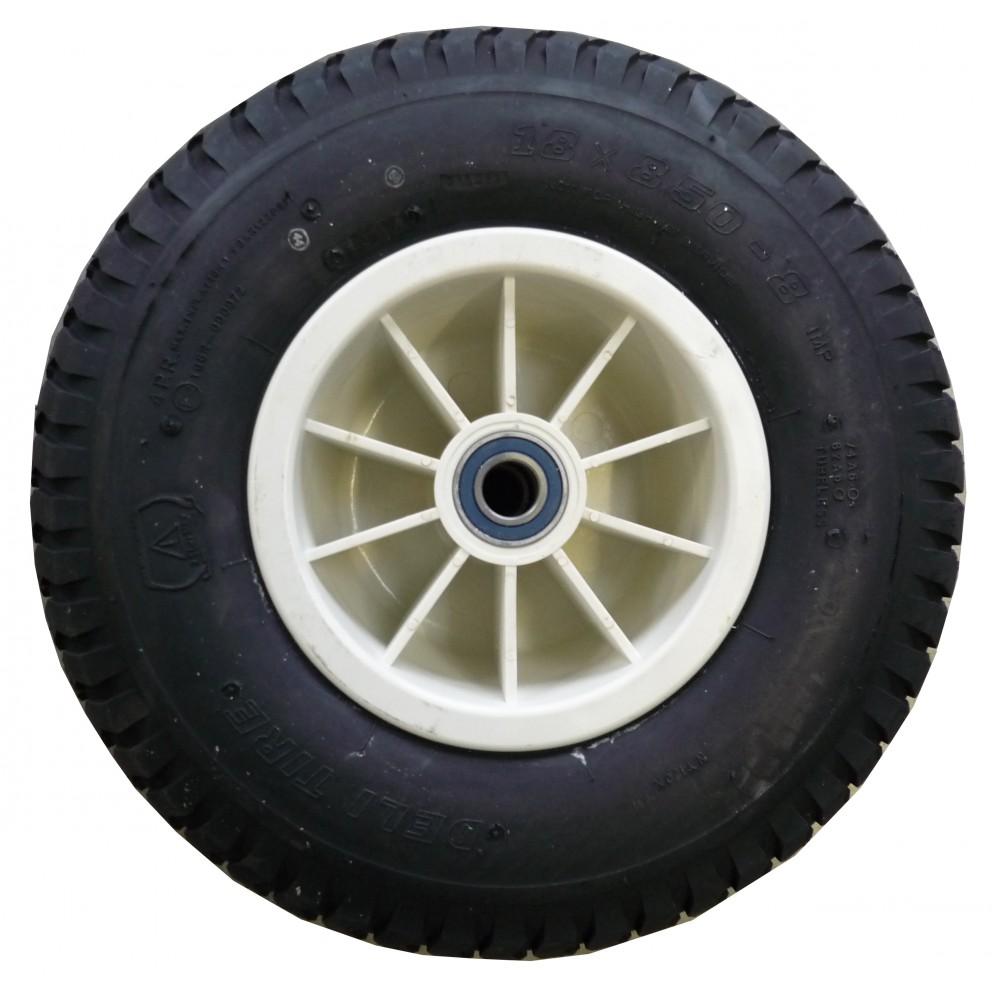 roue ballon 18 8 5 5 jante plastique axe de 25mm roulements n nuphar. Black Bedroom Furniture Sets. Home Design Ideas