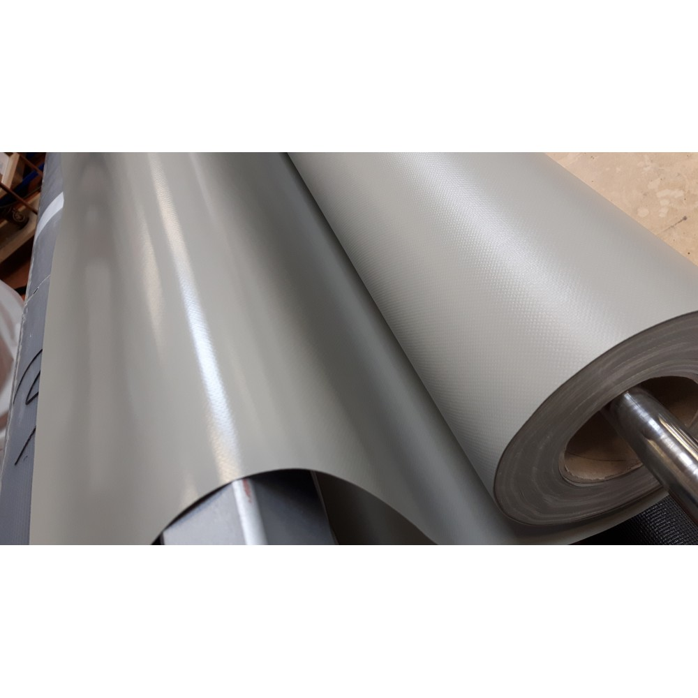 TISSU POLYESTER/ENDUIT PVC 580 GRS 200CM LE ML